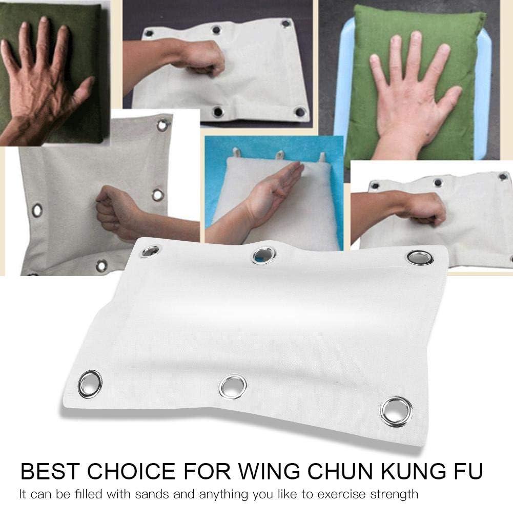 Alomejor Sac de Sable Punch Toile Sac de Sable Punch Cotton Wing Chun Kungfu Entra/înement de Boxe Sac de Boxe Exercice de Formation