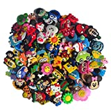 100 Pcs PVC Shoe Charms Fit Crocs & Bands Bracelet and Gifts