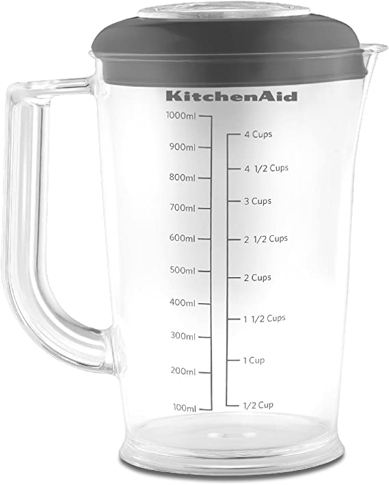 KitchenAid KHB2561OB Batidora de inmersión 1L Negro - Licuadora (1 ...