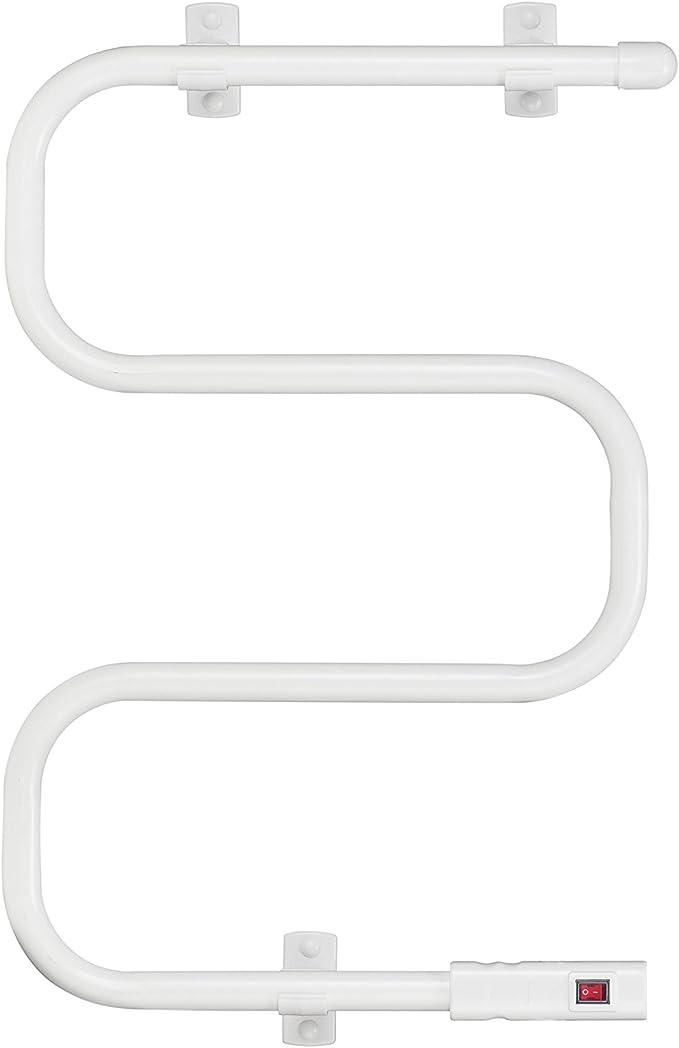 80 W Garza 80WE Toallero el/éctrico de pared Blanco
