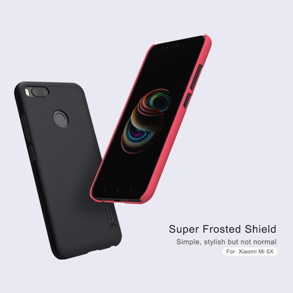 COVO Xiaomi Mi 5X Funda Espalda Cover Material de protección del medio ambiente,Ultra delgada,Estilo Smartphone Funda Carcasa Case Cover Caso para Xiaomi Mi 5X (Rojo): Amazon.es: Electrónica