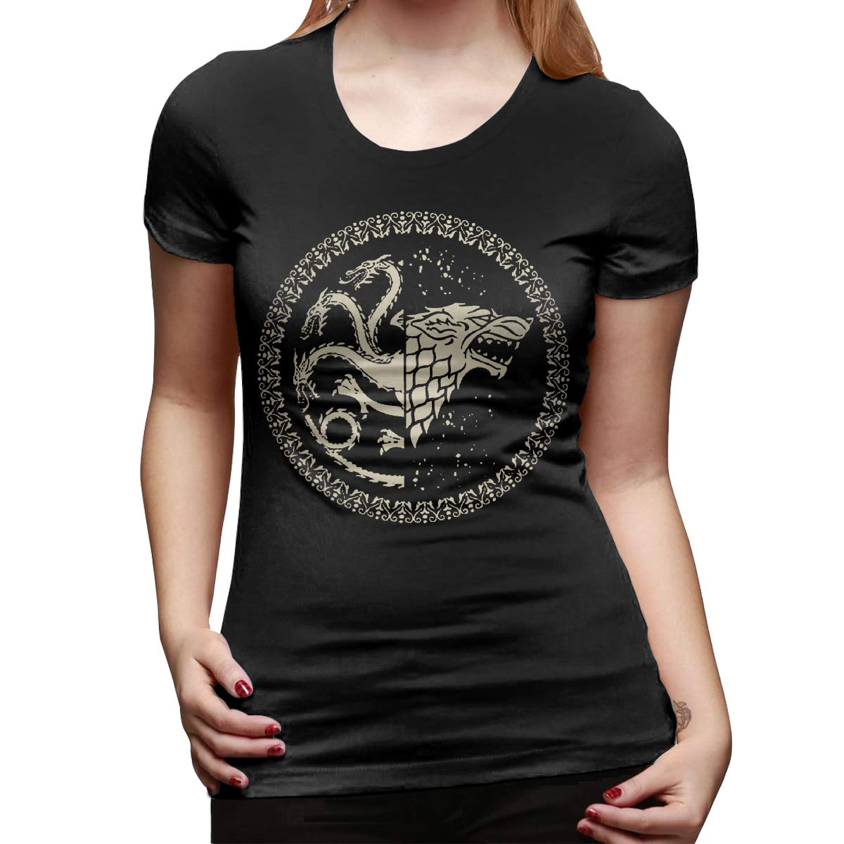 Game Of Thrones Womens Black L Shirts