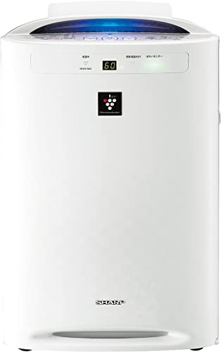 SHARP Air Purifier with Humidifying Function 450mL h WhitePowerful Plasmacluster7000 KC-B50-W