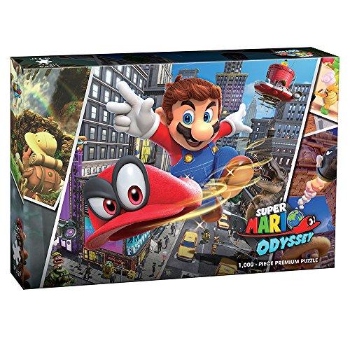 Super Mario Odyssey: Snapshots 1000 piece premium puzzle | Super Mario Odyseey video game collectable puzzle