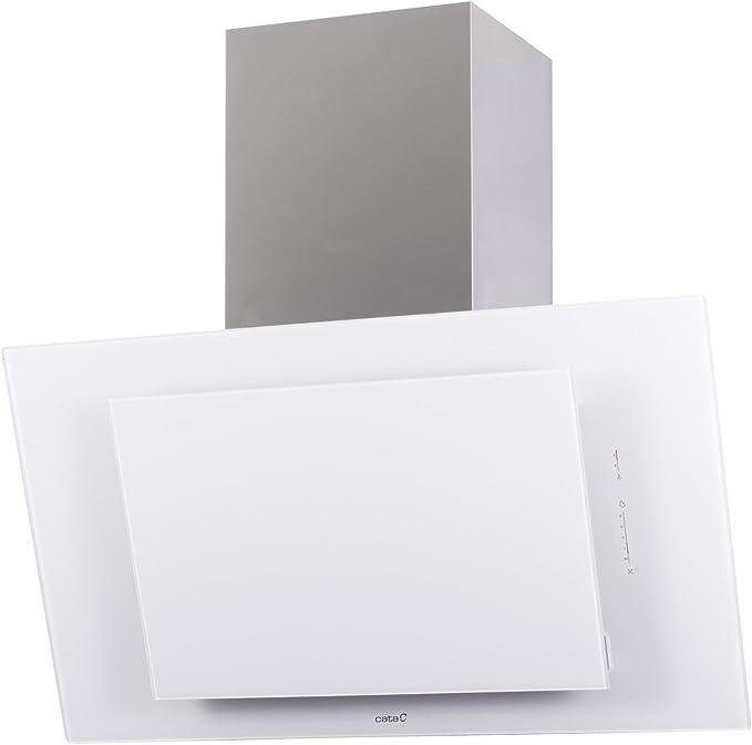 Cata - Campana extractora de pared (90 cm, sin cabezal, cristal de acero inoxidable, 5 niveles, 1150 m3/h): Amazon.es: Grandes electrodomésticos