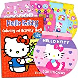 Hello Kitty Coloring Book & Stickers ~ 96 pg Coloring Book & Over 200 Hello Kitty Stickers plus Bonus Stickers!