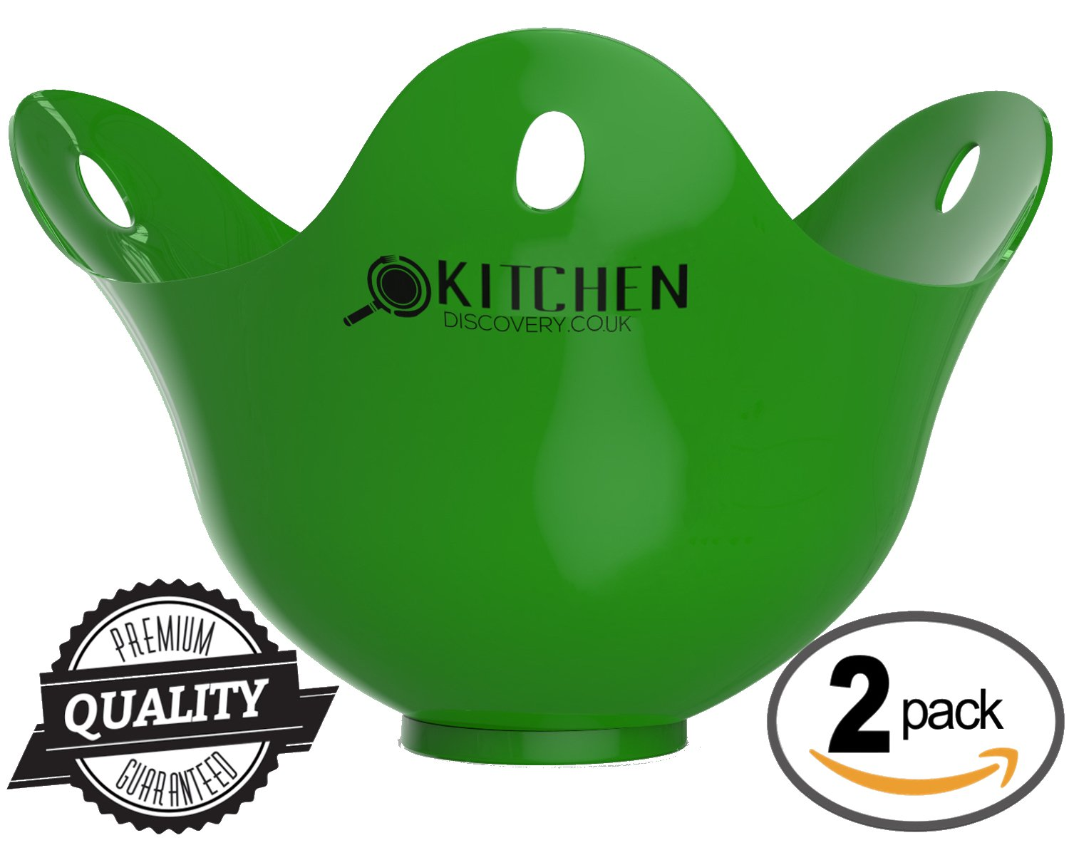 Egg Poacher - 2 pack For Cooking Poached Eggs -LIFETIME GUARANTEE! Best Quality PoachPods, Silicone Egg Poachers For Cooking That Perfect Poached Egg. Quick and Easy To Use, Cooked Eggs in Minutes!! These Revolutionary Egg Poachers Are The Future Of Easy