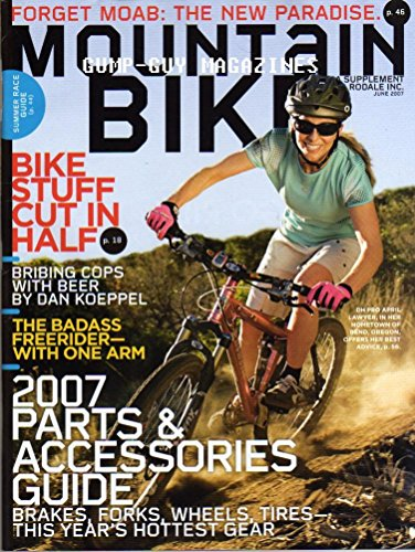Mountain Bike June 2007 Magazine TESTED BIKES: NEW TECH FROM