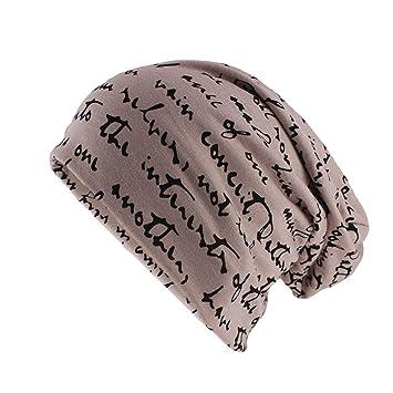 Unexceptionable-Beanie Hat Sombrero de Moda cálido Mujeres Hombres ...