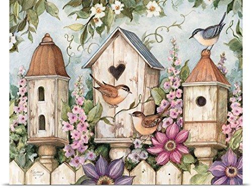 Susan Winget Poster Print entitled Birdhouses