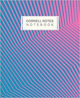 Cornell Notes Notebook: Cornell Method Note Taking System