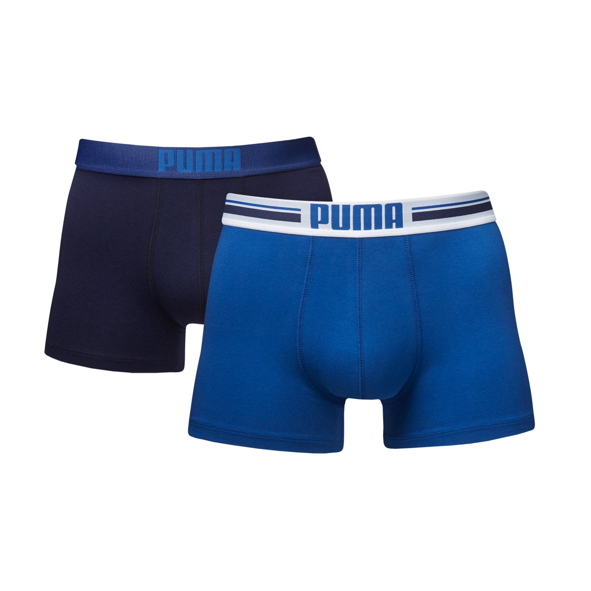 TALLA M. Puma Placed Logo - Pack de 2 bóxers para hombre