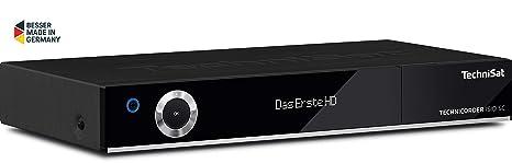 TechniSat TECHNICORDER SC Digital-Kombi-Receiver mit erweiterbarem Doppel-Quattro-Tuner, Festplatten-Slot, integriertem WLAN