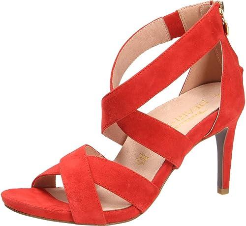 Tamaris Sandaletten über 50 mm gl. Boden, Rot