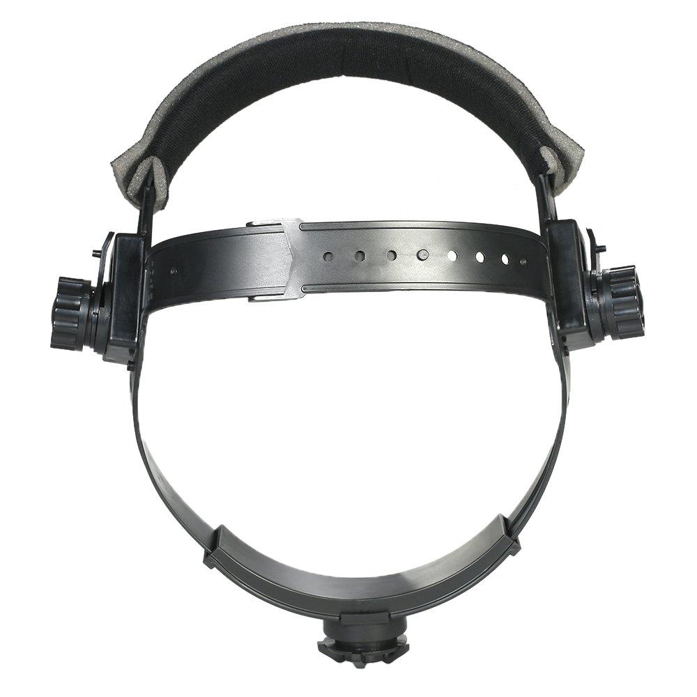 Walmeck Replacement Adjustable Headgear for Welding Helmet Mask Headband Auto Dark Helmet Accessory