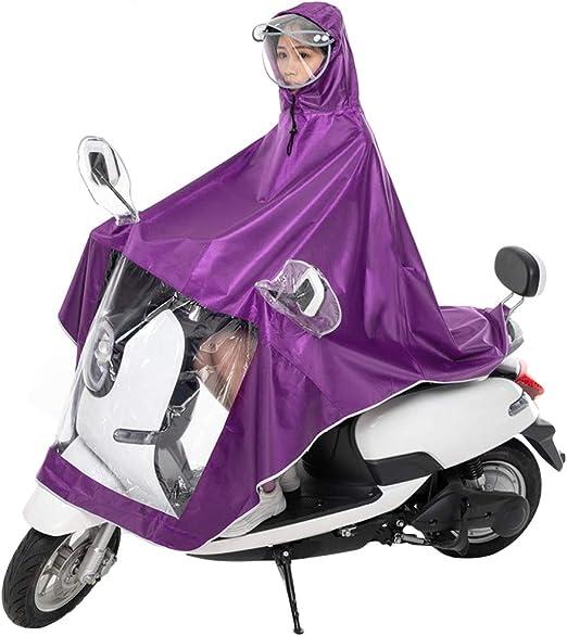 fgghfgrtgtg Impermeable Bicicleta del Motor del Impermeable ...