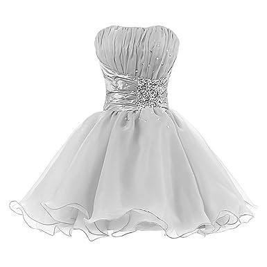 4b40a16c2d2 Amazon.com  Tivansi Women s Short Homecoming Prom Cocktail Dresses  Clothing