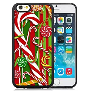 New Beautiful Custom Designed Cover Case For iPhone 6 4.7 Inch TPU With Merry Christmas Pattern Background Phone Case