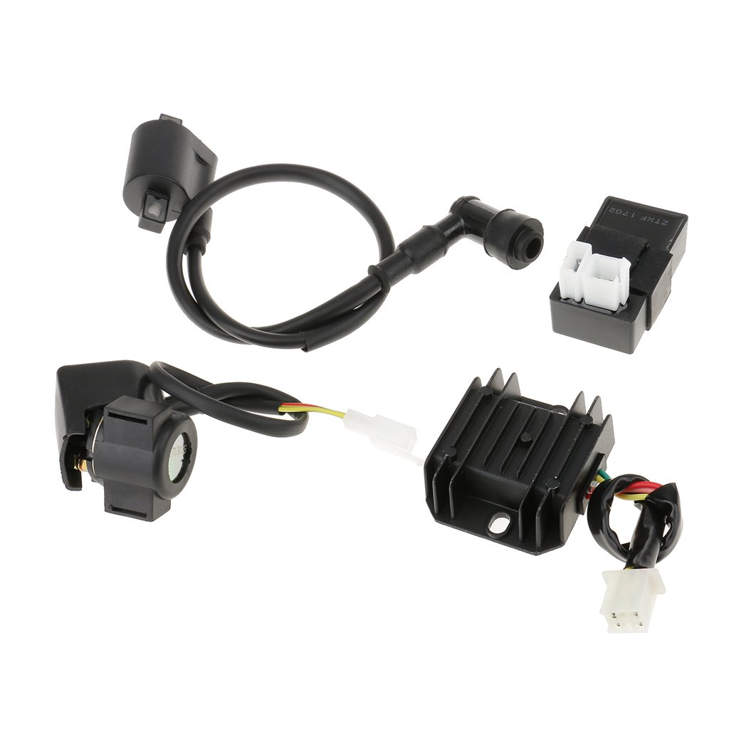 Gazechimp Ignition Coil//CDI Box//Regulator//Relay Assortment for ATV Quad Universal
