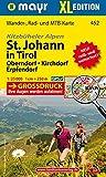 St. Johann in Tirol XL - Oberndorf - Kirchdorf - Erpfendorf: Wander-, Rad- und Mountainbikekarte. GPS-genau. 1:25000 (Mayr Wanderkarten)