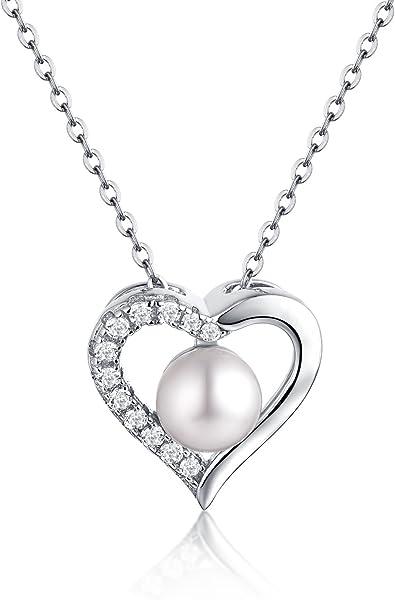 Natürliche Perle Sterling Silber Anhänger Frauen Elegante Stil Anhänger Mit Halskette Geburtstag Party Geschenk Fabrik Preis Edler Schmuck Anhänger