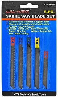 Sabre Saw Blades 5pc for Black /& Decker Jig Saw Sabre Scroll Assortment Blades