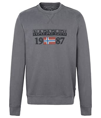 287d29969b0 Napapijri Berthow Crew Sweat-Shirt Homme  MainApps  Amazon.fr ...
