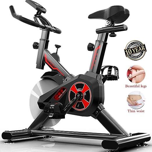SYHSZY Bicicletas estáticas y de Spinning Bicicleta De Eiercicio En ...