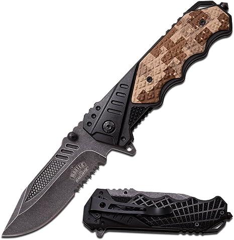 schwarz nylon fiber griff MAUS-1524 Master USA Outdoormesser Gesamtl/änge cm: 30,48