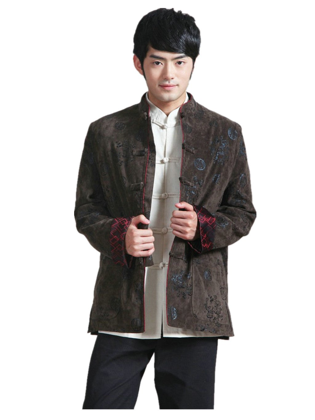 Wool Tang Suits Retro Jackets cotton-padded jacket Business Jackets