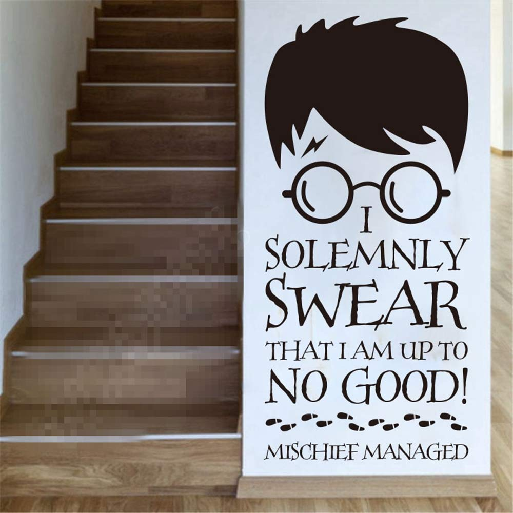 pegatinas de pared mariposas Harry Potter Vinilo Tatuajes de Pared ...