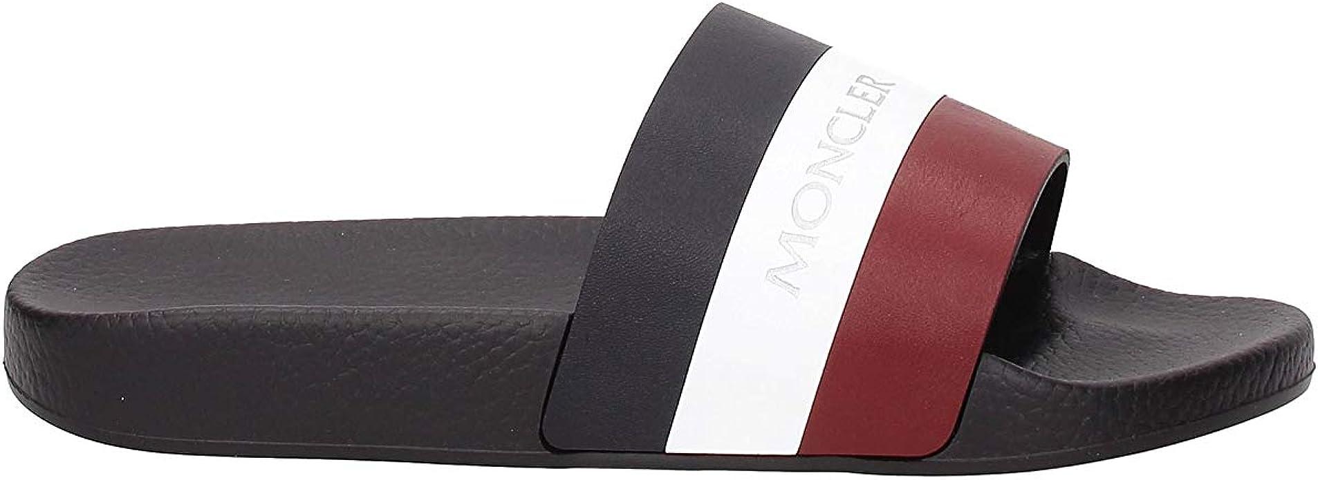 Moncler Herren Hausschuhe Schwarz schwarz Hausschuhe Schuhe