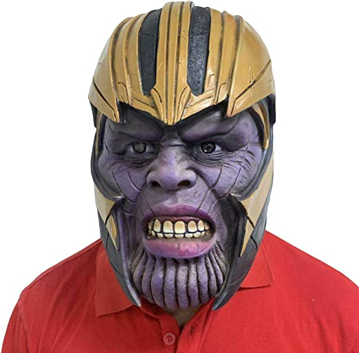 Hope Thanos Máscara Látex Scary Casco Cabeza Completa Película ...