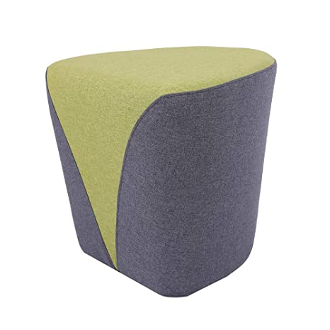 Astounding Sunon Heart Pouf Ottoman 18 1L X17 7W X17H Vanity Stools Matched Fabric Small Ottoman Foot Rest And Nesting Stool Green Lamtechconsult Wood Chair Design Ideas Lamtechconsultcom