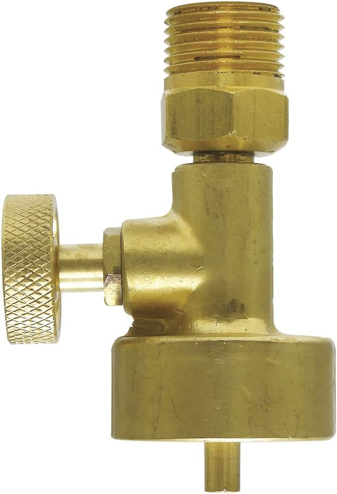Jewelers Little Torch Disposable Propane /& Oxygen Tank Valves to CGA 200 /& 540
