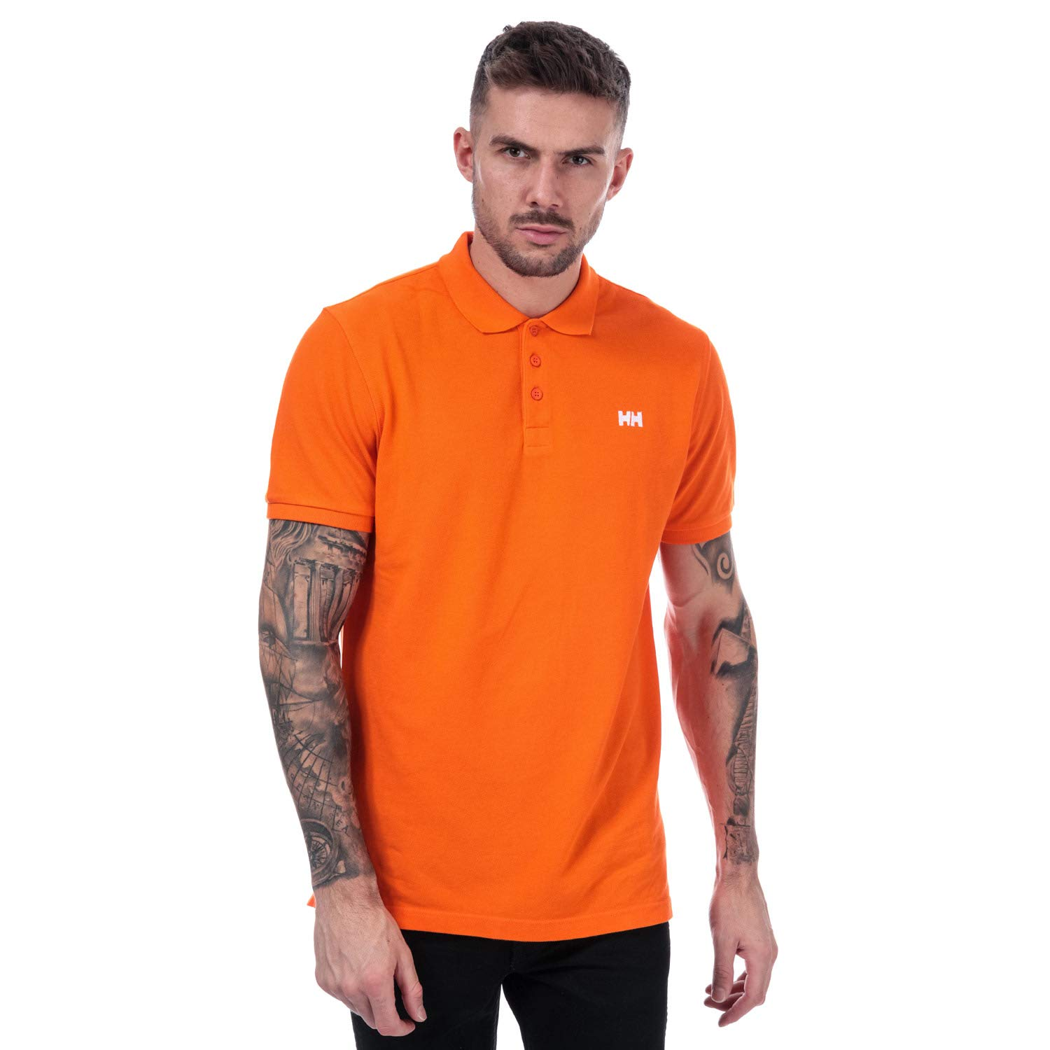 Helly Hansen Polo Transat Blaze Orange - El Popular Polo de Manga ...