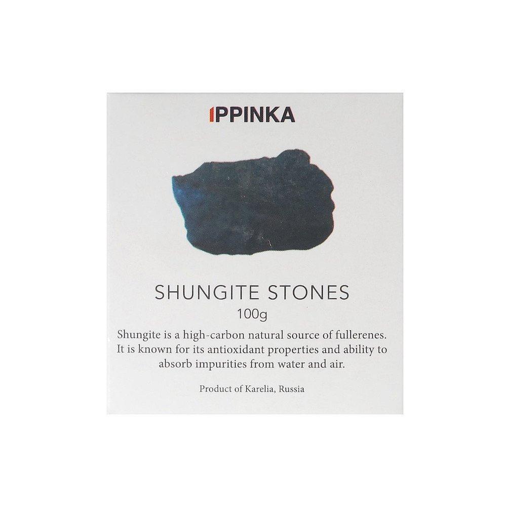 10-20mm Stones IPPINKA Shungite Stones for Water Purification 100 Grams Karelian