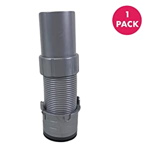 Crucial Vacuum Floor Nozzle Hose Replacement - Parts Compatible with Shark Navigator Part # 193FFJ - for Vac Models NV350, NV351, NV352 - Captures Mites, Pollen, Household Dust, Particles - (1 Pack)