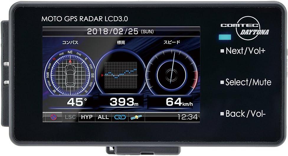 DAYTONA(デイトナ) バイク用GPSレーダー MOTO GPS RADAR LCD 3.0