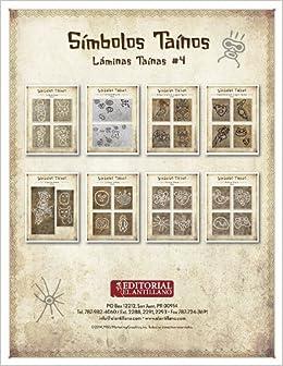 Láminas Taínas #4: Símbolos Taínos: Editorial El Antillano