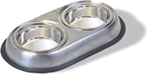 Van Ness Stainless Steel Small Double Dish, 8 Ounce per side