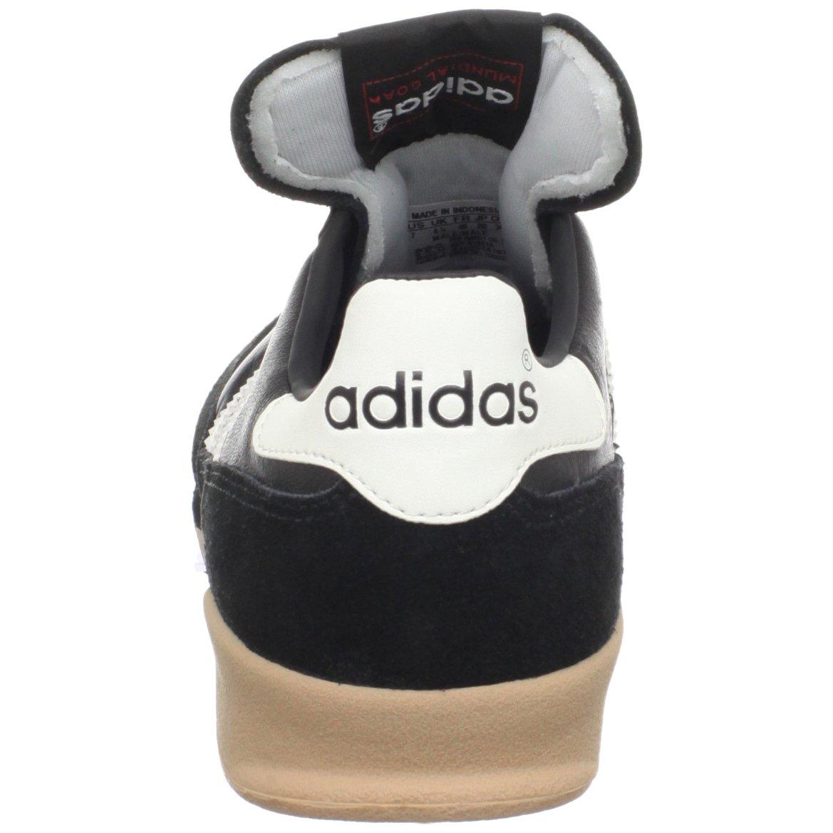 adidas Men's Mundial Goal Soccer Cleat, Black/White/White, 5 M US by adidas (Image #2)