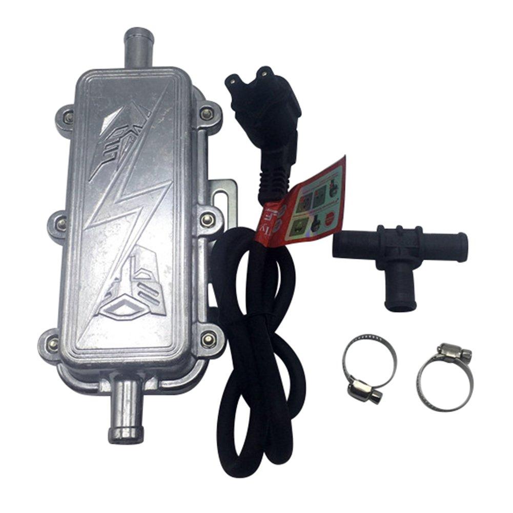 Coche precalentamiento motor calentador calentador de metal coche motor calentador calentadores de Lobezno Motor para temperatura de invierno se baja y ya ...