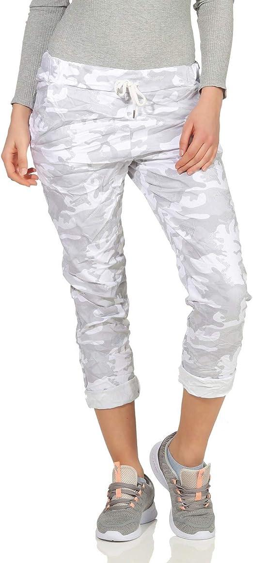 ZARMEXX Pantalones de chándal para Mujer Pantalón de Verano ...