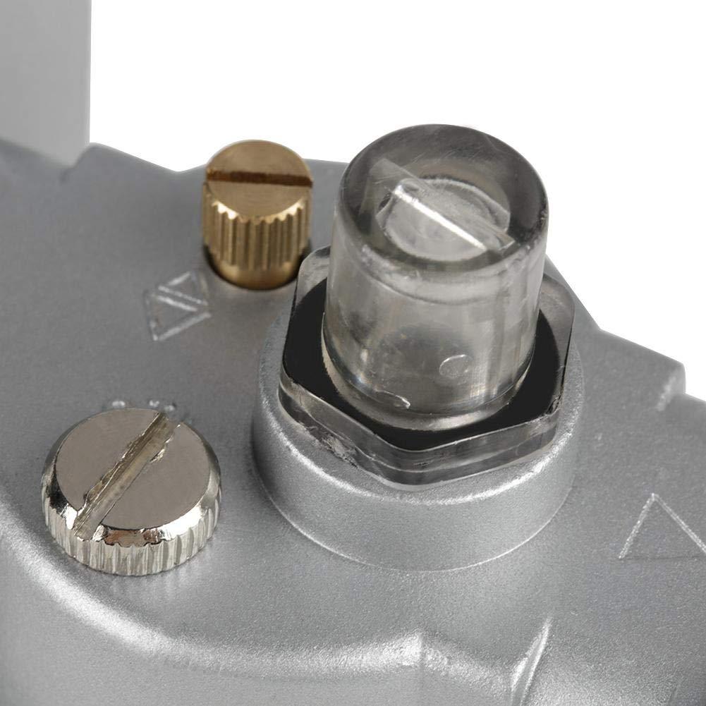 Compressor Filter,1//2 Air Pressure Compressor Filter Gauge Trap Oil Water Regulator Tools Kit