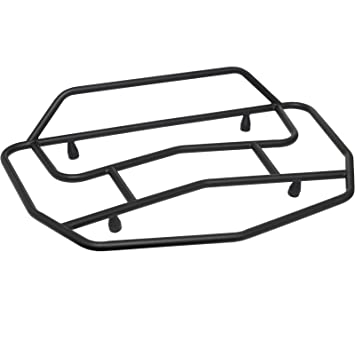 GIVI E107B Metal-Rejilla de Carga Negro para V46 Baúl