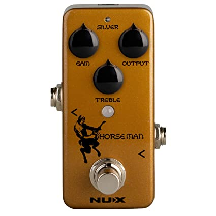 Amazon com: NUX Horseman Overdrive Guitar Effect Pedal with