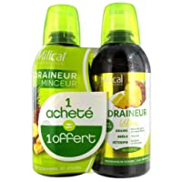 Milical Draineur Ultra Lot de 2 x 500 ml - Ananas
