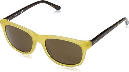 Gant Sonnenbrille Ga7085 40E 54 Gafas de sol, Amarillo (Gelb), 54.0 para Hombre