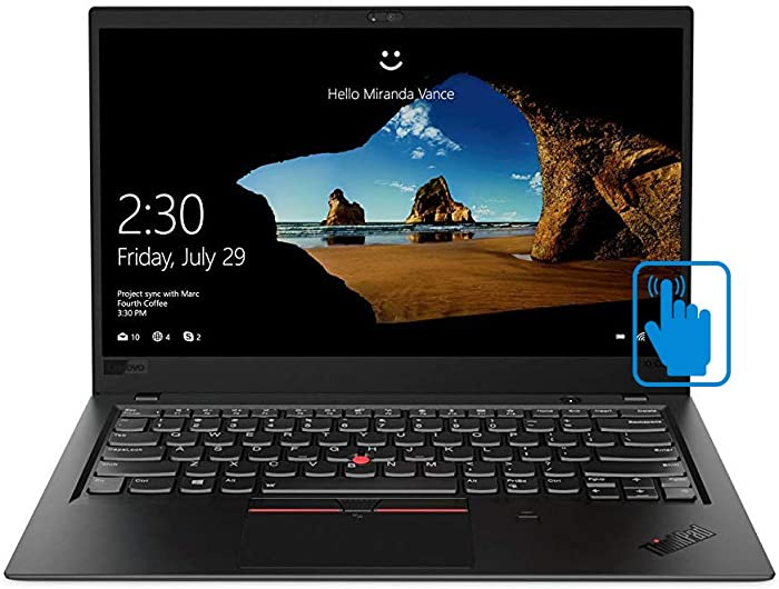 "Lenovo ThinkPad X1 Carbon 7th Generation Ultrabook: Core i7-8565U, 16GB RAM, 512GB SSD, 14"" FHD Display, Backlit Keyboard"